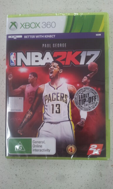 NBA 2K17 Xbox 360 Game (Early Tip-off DLC) Brand New