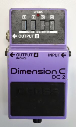BOSS DC-2 Dimension C Guitar Effects Pedal MIJ 1985 #14 DHL Express or EMS