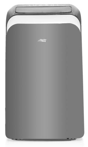 Arctic King 12,000 BTU (8,000 BTU DOE) Portable Air Conditioner with Wi-Fi, Gray