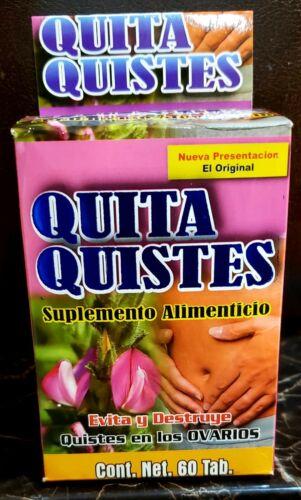 QUITA QUISTES  (QUISTES EN LOS OVARIOS) EVITA Y DESTRUYE