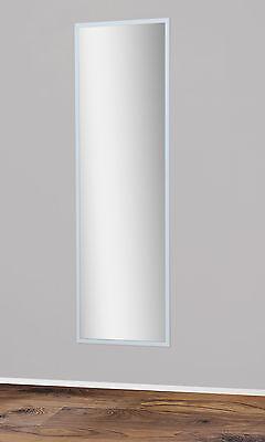 Schlafzimmer Spiegel (Spiegel Wandspiegel Badspiegel Garderobenspiegel 175x53,5 cm Rückwand Weiß)