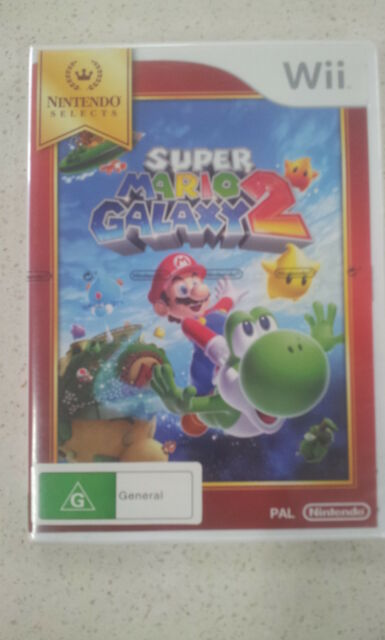 Super Mario Galaxy 2 Wii (NEW) G