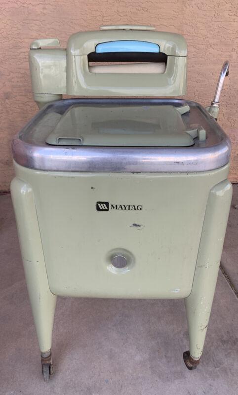 Vintage Maytag Wringer Gyratator Washer Model E2L