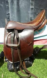 Saddle fully mounted