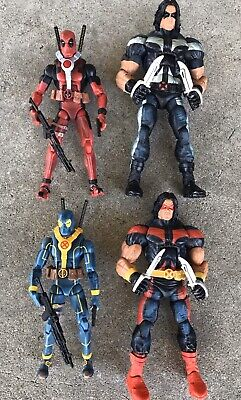 Marvel Legends Deadpool & Warpath 2 Packs Two Sets X-Men And X-Force Loose Rare