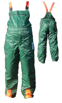 Chainsaw Protection Forestry Bib & Brace Trousers XL 40