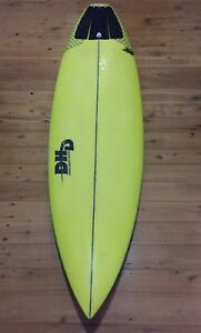 "DHD surfboard - 6""4 Mick Fanning ducknuts model"
