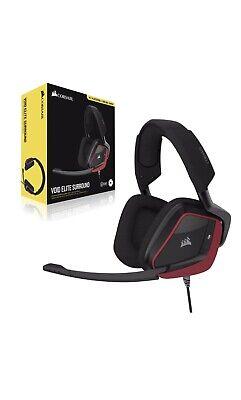 NEW Corsair VOID ELITE SURROUND Premium Gaming Headset Cherry 7.1 Surround Sound