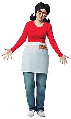 Bob's Burgers Linda Adult Women's Costume Waist Apron Halloween Rasta Imposta (Linda Bob's Burgers Halloween Costume)