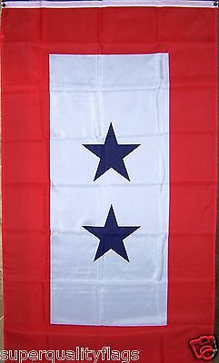 NEW 3X5 ft TWO BLUE STARS FAMILY MEMBERS SONS SERVING MILITARY FLAG au