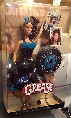 Cha Cha Grease Dance Off Black Dress 30 Years Barbie Doll NRFB 2008 Movie M9593