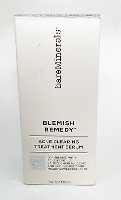 bareMinerals Blemish Remedy Acne Clearing Treatment Serum, 1 oz (best by