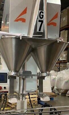 All-fill 2 Head Fill Tasv-600 Cup Filling Auger Filler. Stainless Food Grade