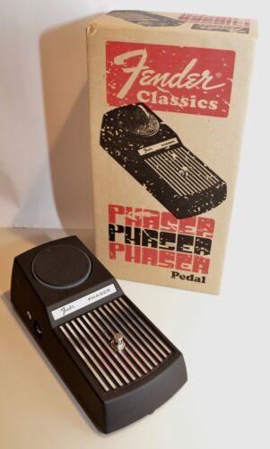 NOS • Fender Classics 2009 Phaser Effects Pedal • PR 652 •Velvet Bag & Box