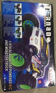 RC Nitro Monster Truck 1/8th scale