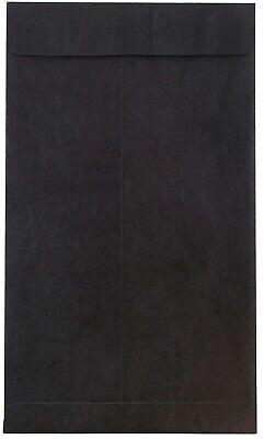 Tyvek Black 10x13 Top Load Envelope 100 Pack.