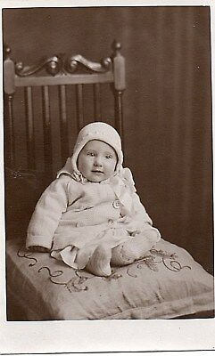 Pretty Baby Sat on a chair with Cushion,Sheffeild Photographer.See Scans