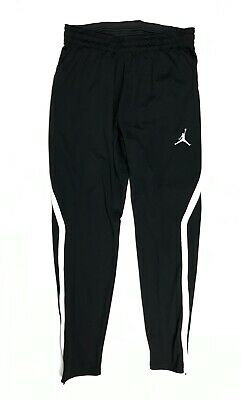 New Nike Jordan 23 Alpha Dry Tapered Training Sweat Pant Men's L Black AJ1912