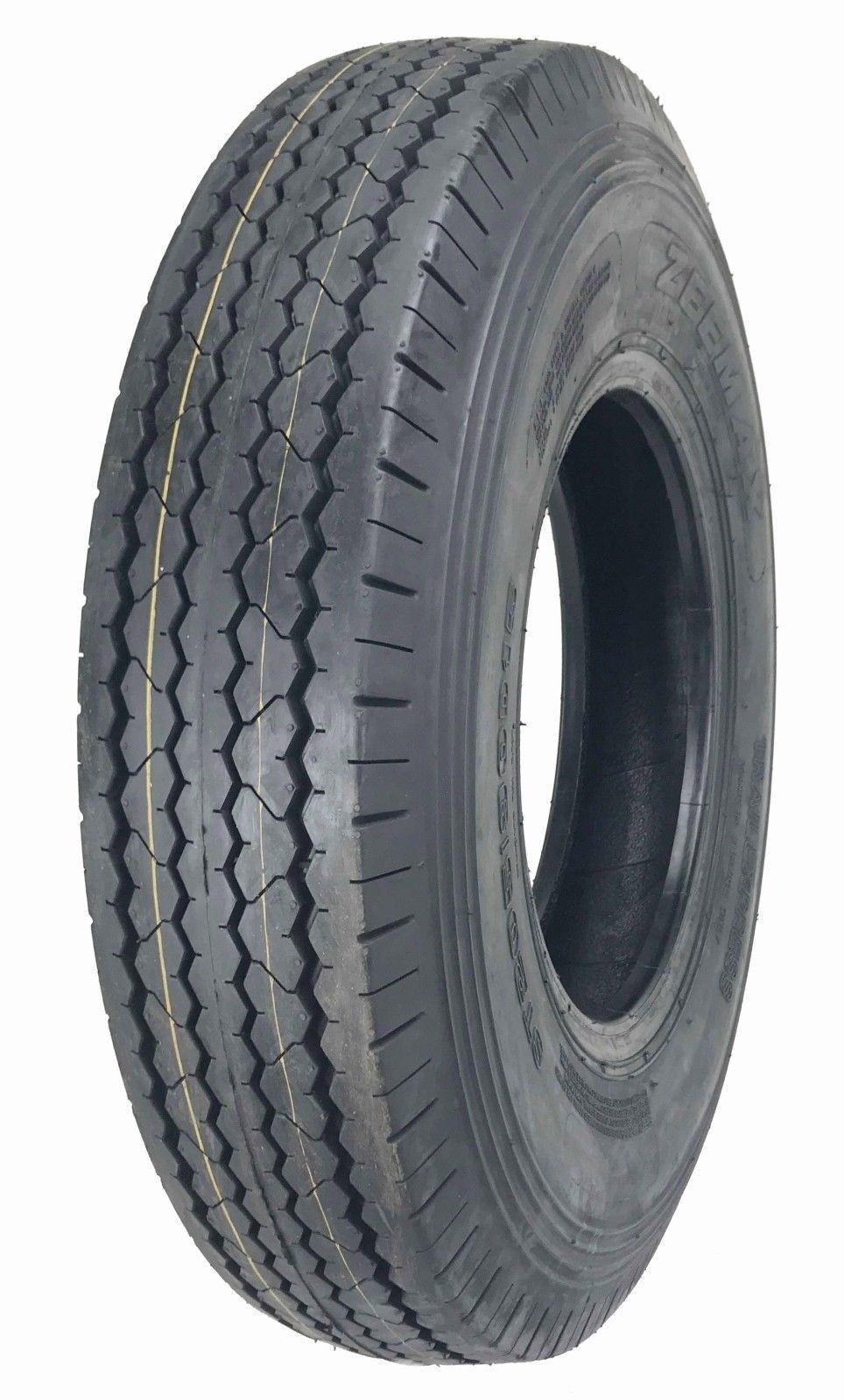New Zeemax Heavy Duty Trailer Tire ST205/90D15 / 7.00-15 Bias 10 PR - 11024