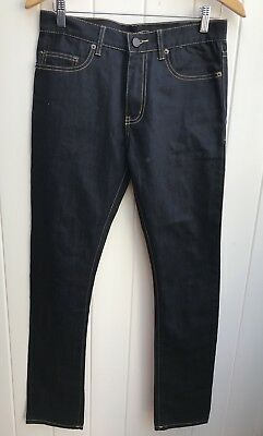 Saint Laurent Paris D02 m/sk-lw ,Black Skinny Stretch Pants ,Size 30.