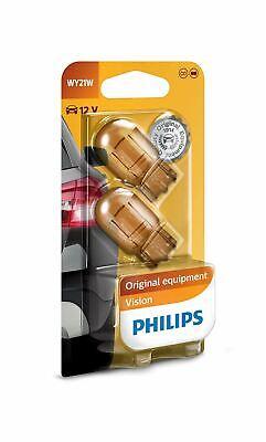 PHILIPS WY21W 12071B2 12V 21W Vision Halogen Indicators WX3x16d TwinPack