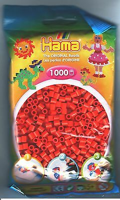 1000 Hama Orange 207-04 Color Iron On Midi Beads
