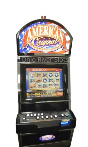 "BALLY M9000 ""AMERICAN ORIGINAL"" VIDEO SLOT MACHINE (COINLESS / TICKET PRINTER)"