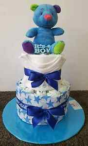 NAPPY CAKES BABY SHOWER GIFT Point Cook Wyndham Area Preview