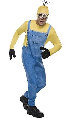 New Minion Kevin Adult Male Costume Halloween Despicable Me XL