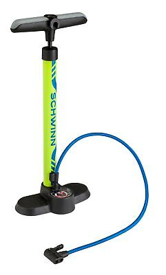 Schwinn Better Pump With Gauge Bicycle Bike Tire Basketball Football Soccer (Best Tire Air Gauge)