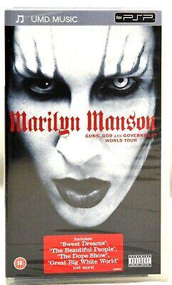 Marilyn Manson, God, Guns and Government World Tour, NEU