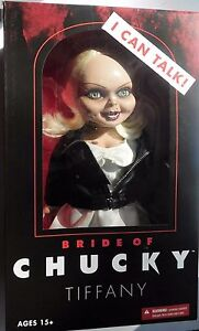 15-034-Mega-Scale-Bride-Of-Chucky-Talking-Tiffany-Doll-Mezco-Horror-BRAND-NEW
