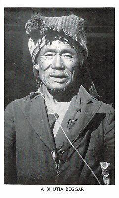 Nepal,Tibet,India,A Bhutia Beggar,Ethnic,c.1950s