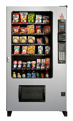 Candy Chip Snack Vending Machine Grayblack Ams 45 Select Wcoin Bill Mech