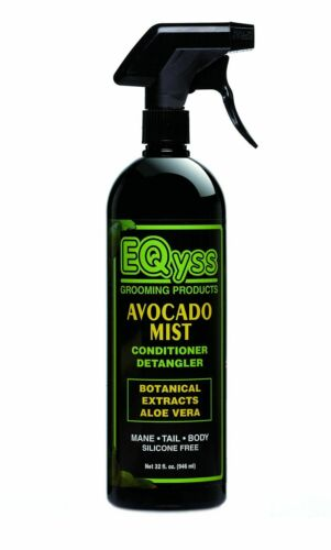 EQyss Grooming Products Avocado Mist Conditioner Detangler ( 2-32 oz bottles)