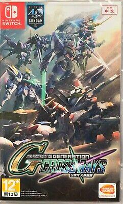 Usado, SD Gundam G Generation Cross Rays Asia Chinese/English etc Switch BRAND NEW comprar usado  Enviando para Brazil
