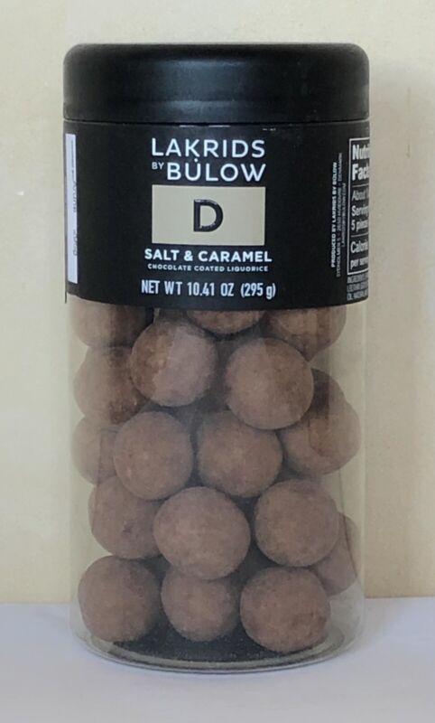 Lakrids by Bulow D Salt & Caramel Chocolate Coated Liquorice Exp:10/202021 295g