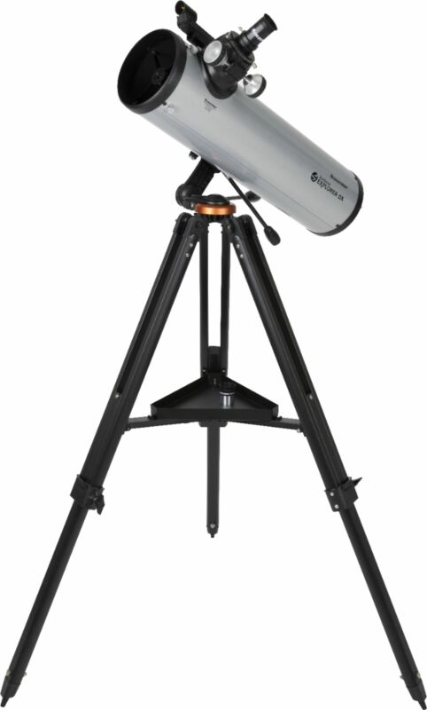 Celestron - StarSense Explorer 130mm Newtonian Reflector Telescope - Silver/B...