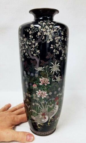 Large Fine Antique Japanese Cloisonne