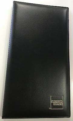 Double Panel Check Presenter American Express