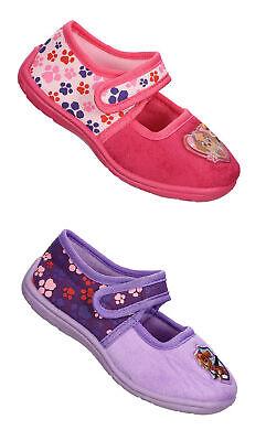e Kinder Mädchen Gr. 25-31 pink lila Pantoffeln neu! (Paw Hausschuhe)