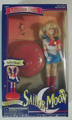 "Sailor Moon 6"" Serena MIB Irwin 1997 W/ Spinning Base"