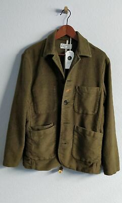 [NWT] Universal Works Moleskin Bakers Jacket Moss Size M