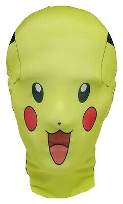 Pikachu Mask - Pokemon GO - Cosplay - Comic Con - Halloween Costume -Fancy Dress