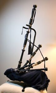 Soutar Bagpipes - set up ready to go! Or $975 stocks & sticks