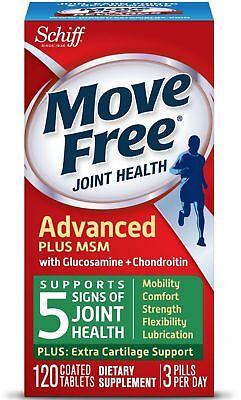 Schiff Vitamins MoveFree+MSM Advanced 120CT