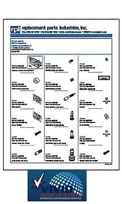 Control Block Service Kit For A-dec Fits Handpiece Control Block Century Plus