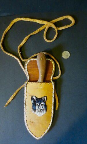 Neck Knife; Wolf