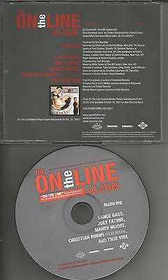 Nsync Members W  Mandy Moore   Bbmak On The Line Promo Dj Cd Single Usa Mint