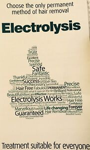 Electrolysis and laser hair removal free consultation.